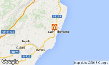 Mappa Cala Liberotto Appartamento 71344