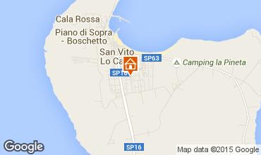 Mappa San Vito lo Capo Appartamento 101903