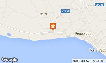 Mappa Pescoluse Villa  94448