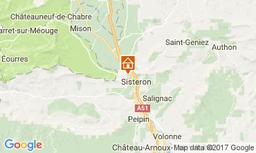 Mappa Sisteron Agriturismo 110860