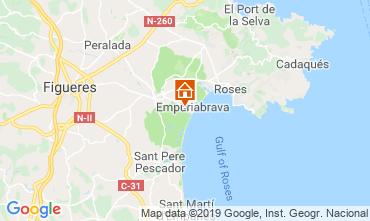Mappa Empuriabrava Villa  108889