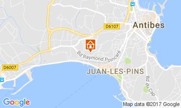 Mappa Juan les Pins Appartamento 112158