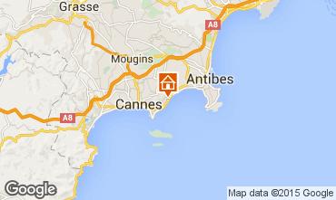 Mappa Cannes Appartamento 24962