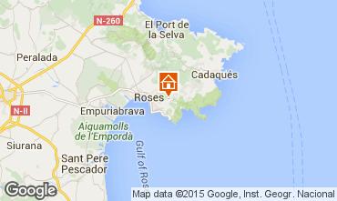 Mappa Rosas Villa  92737