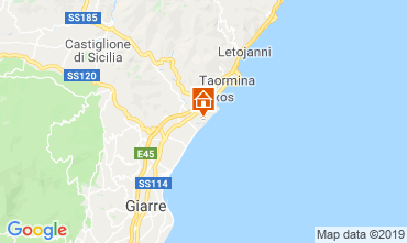 Mappa Taormina Monolocale 26172