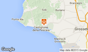 Mappa Castiglione della Pescaia Appartamento 74791
