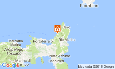Mappa Rio nell'Elba Appartamento 112921