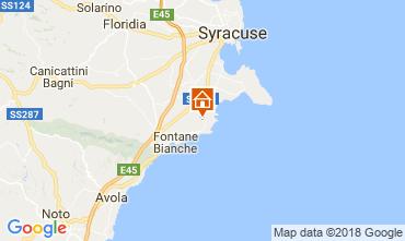 Mappa Siracusa Villa  114926