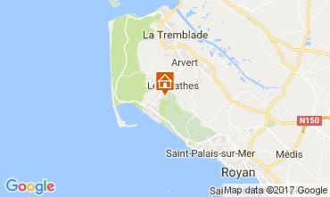Mappa La Palmyre Casa mobile 67270