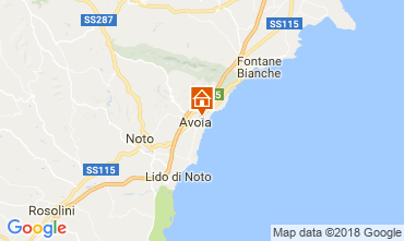 Mappa Avola Villa  115325