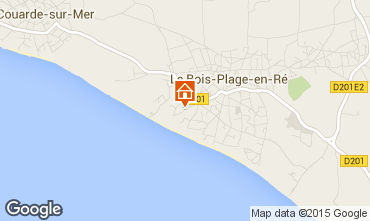 Mappa Le Bois-Plage-en-Ré Casa 73424