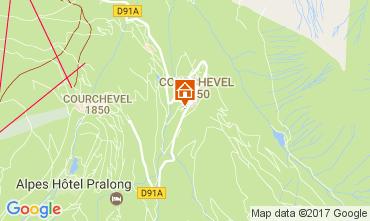 Mappa Courchevel Appartamento 110053