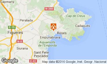 Mappa Rosas Villa  96439