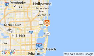 Mappa Miami Beach Appartamento 47405