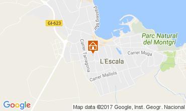Mappa L'escala Villa  107579