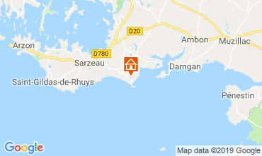Mappa Sarzeau Bungalow 62983