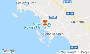 Mappa Porto Cesareo Appartamento 86647