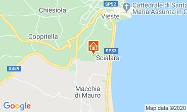 Mappa Vieste Villa  10245