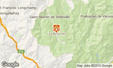 Mappa Les Menuires Appartamento 15411
