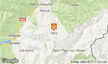 Mappa Vars Chalet 3638