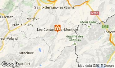Mappa Les Contamines Montjoie Appartamento 48559