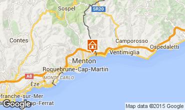 Mappa Menton (Mentone) Appartamento 68396