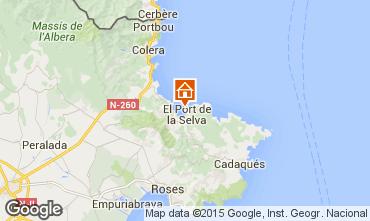 Mappa Cadaquès Casa 58399
