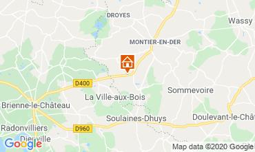 Mappa Colombey-les-Deux-Églises Agriturismo 72063