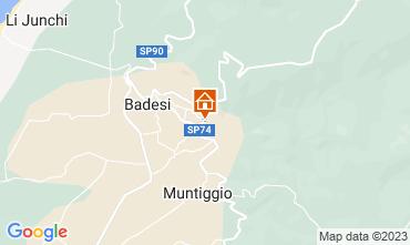 Mappa Badesi Appartamento 43384