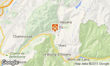 Mappa Alpe d'Huez Chalet 66024