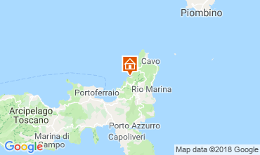 Mappa Rio nell'Elba Appartamento 117213