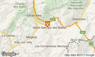Mappa Saint-Gervais-les-Bains Monolocale 86819