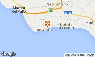 Mappa Tre Fontane Villa  95677