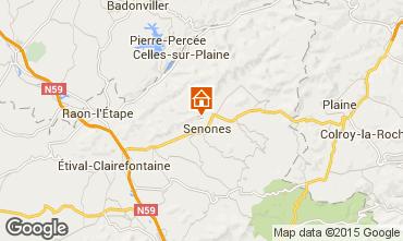 Mappa Gérardmer Chalet 92467