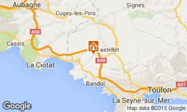 Mappa Bandol Villa  100019
