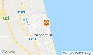 Mappa Alba Adriatica Appartamento 118420
