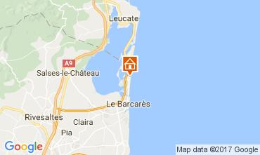 Mappa Le Barcares Casa 107704
