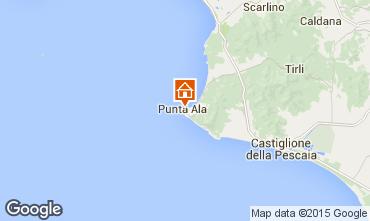 Mappa Punta Ala Appartamento 39866