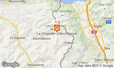 Mappa La Chapelle d'Abondance Appartamento 68203