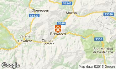 Mappa Predazzo Appartamento 28324