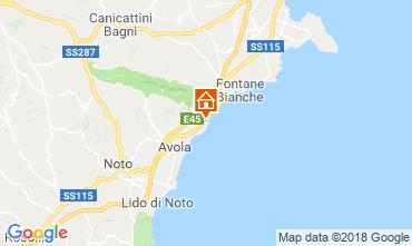 Mappa Avola Villa  103957