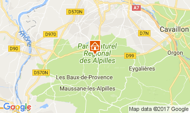 Mappa Saint Rémy de Provence Casa 112732