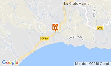 Mappa La Croix Valmer Appartamento 114700