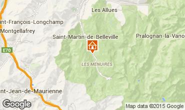 Mappa Les Menuires Chalet 41939