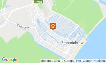 Mappa Empuriabrava Monolocale 109140