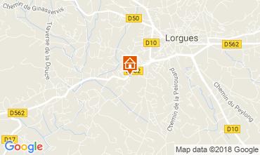 Mappa Lorgues Appartamento 115278
