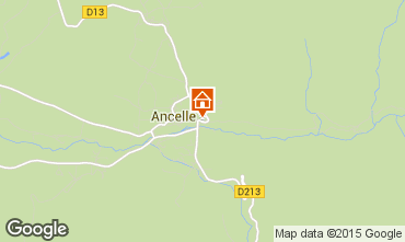 Mappa Ancelle Chalet 68591