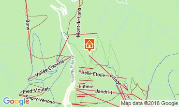Mappa Les 2 Alpes Appartamento 116800