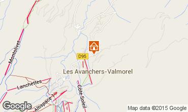 Mappa Valmorel Appartamento 76576