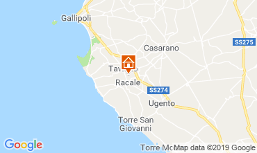 Mappa Gallipoli Villa  102473